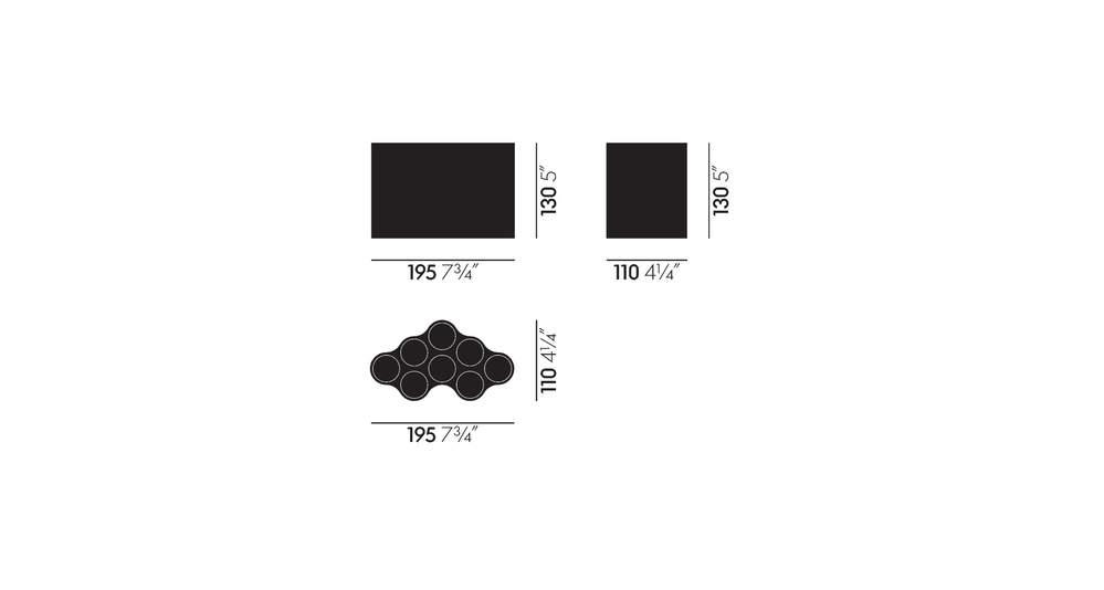 dimensions nuage petit