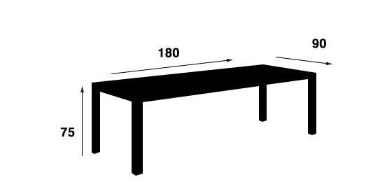 plan table cementino