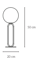 plan lampe de table Ø20