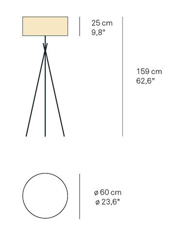 plan lampadaire