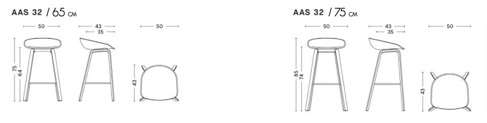 dimensions aas32