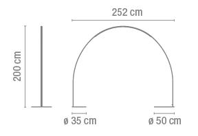 dimensions halley