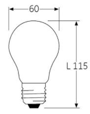 dimensions ampoules
