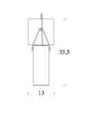 dimensions galerie applique