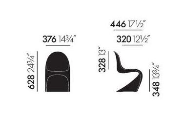 dimensions panton junior