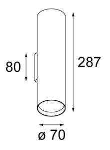 Dimensions 2xPAR 20