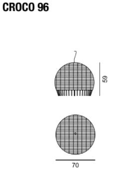dimensions croco 96