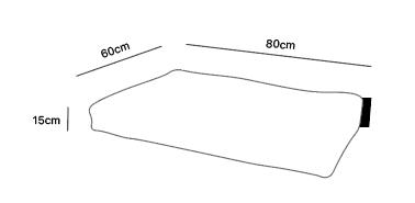 Dimensions doggielounge small