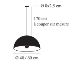 Dimensions Schtu moon 230V