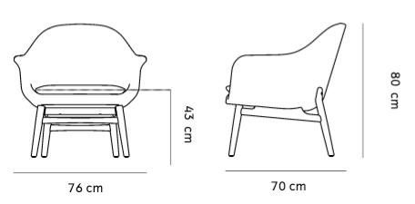 schema harbour lounge chair