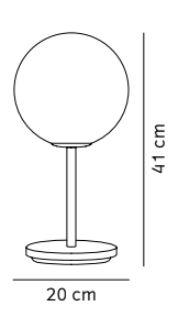 schema lampe de table TR Bulb