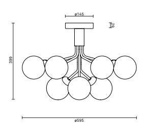 Schema apiales 9 plafonnier