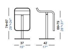 dimensions lem 66/79 lapalma