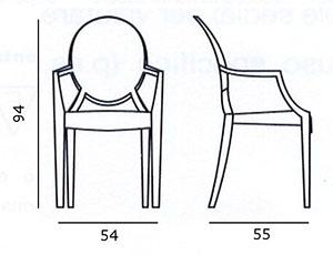 Dimensions : 94 Cm X 54 Cm X 55 Cm