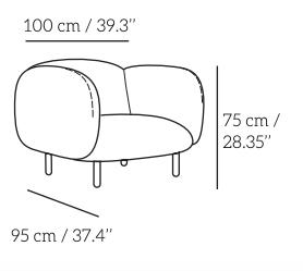 Plan fauteuil moïra