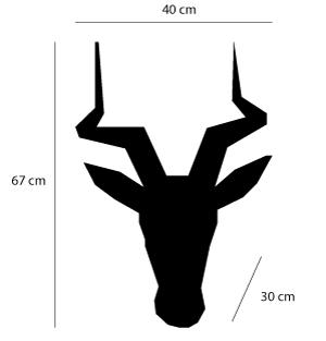 dimensions tete impala