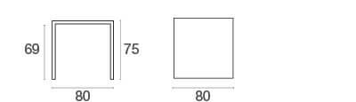 schema urban table carrée