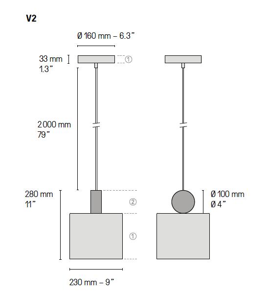 Calé(e) plan lampe V2