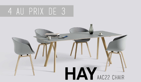 Chaise AAC22 Hay