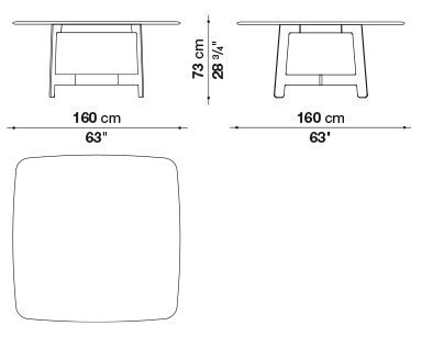 schema alex table carre