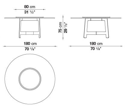 schema alex table ronde