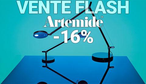 Vente Flash -16% sur toute la marque Artemide