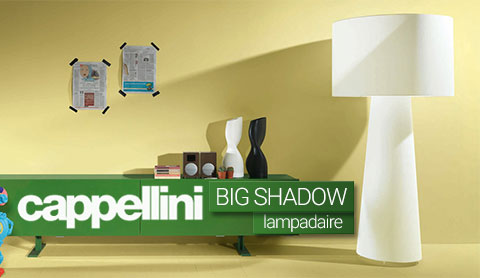 Lampadaire Big Shadow de Cappelini