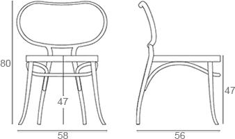 Dimensions Bodystuhl GTV