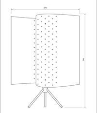 plan lampe B207