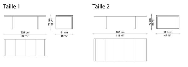 schéma Canasta Table