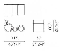 tube chair dimensions