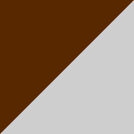 Marron/Argent