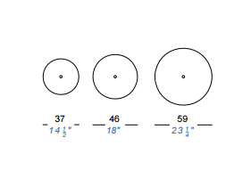 dimensions diametre brio lapalma