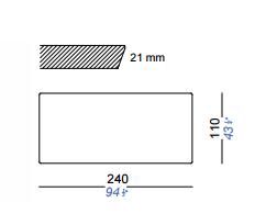 dimensions mutka 240 lapalma
