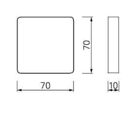 schema miroir cypris 70x70