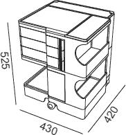 Dimensions Boby B23 B-line