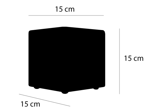 dimensions cube