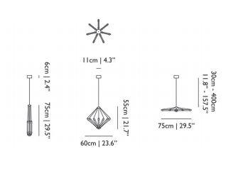 dimensions kroon petit moooi