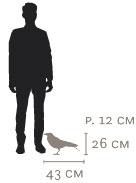 Dimensions Mobilier de Compagnie Edgar de Ibride
