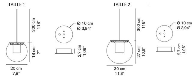 schema globe suspension