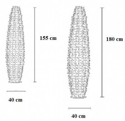 lampadaire design cactus