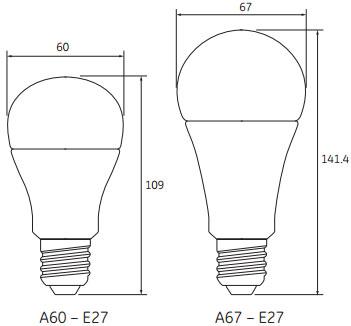 Ampoules LED Start GLS de GE Lighting