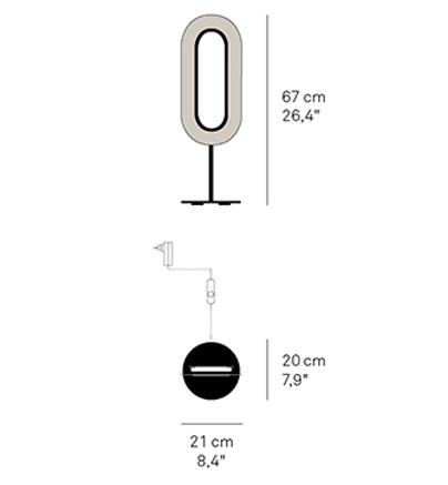 lens oval schema