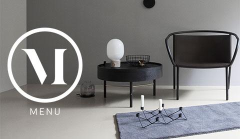 Menu mobilier, luminaires et accessoires design