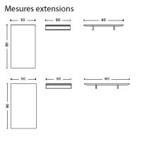 Mesures extensions