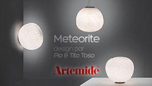 Collection de luminaires Meteorite de Artemide
