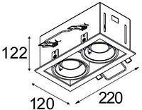 Dimensions Mini Multiple de Modular