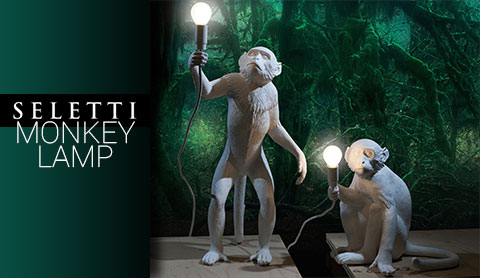 Lampe de table Monkey de Seletti