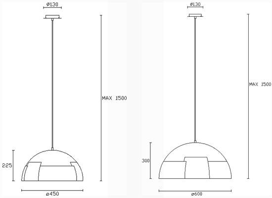 Dimension suspensions Neo de Leds-C4