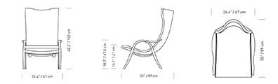 plan fauteuil FH429